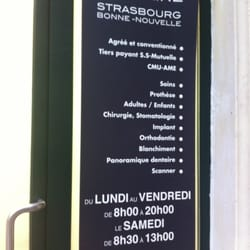 Centre Dentaire Strasbourg-Saint-Denis - Dentiste - 6 boulevard de ...