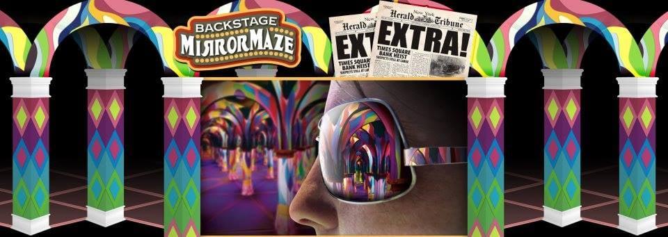 Backstage Mirror Maze