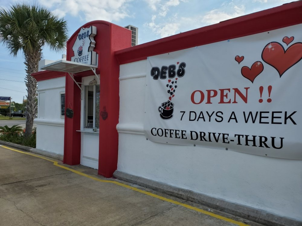 Debs Coffee Drive Thru: 1255 Eglin Pkwy, Shalimar, FL