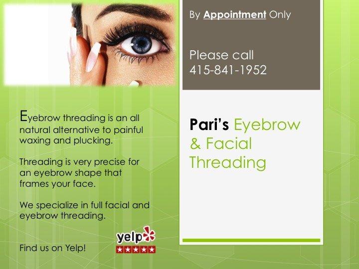 Pari Eyebrow Threading 10 Photos 49 Reviews Threading Services