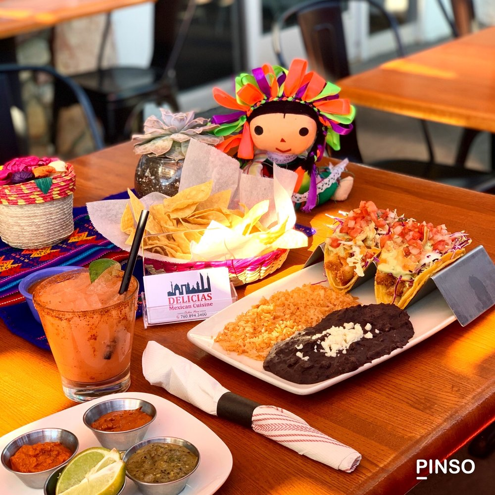 Delicias Mexican Cuisine: 66121 Pierson Blvd, Desert Hot Springs, CA