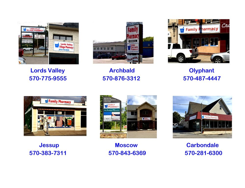 Lord's Valley Village Pharmacy: Route 739, Lords Valley, PA