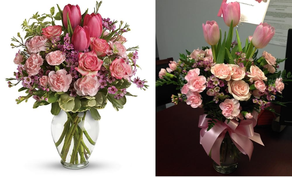 Stock Photo Of Standard Full Of Love Bouquet Vs What Was