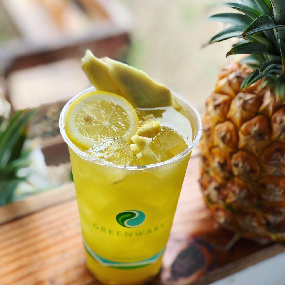Sugah Daddeh's Kane Juice: 56-565 Kamehameha Hwy, Kahuku, HI