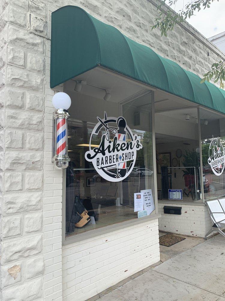 Aiken's Barber Shop: 127 Laurens St NW, Aiken, SC