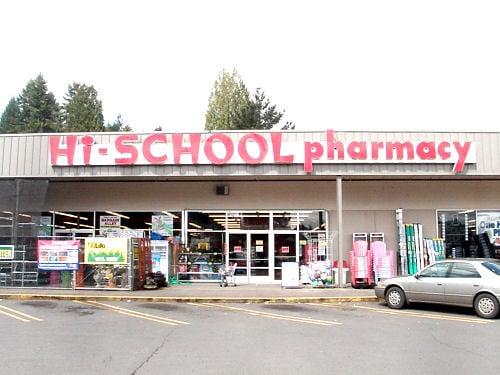 Hi-School Pharmacy: 401 W Columbia River Hwy, Clatskanie, OR