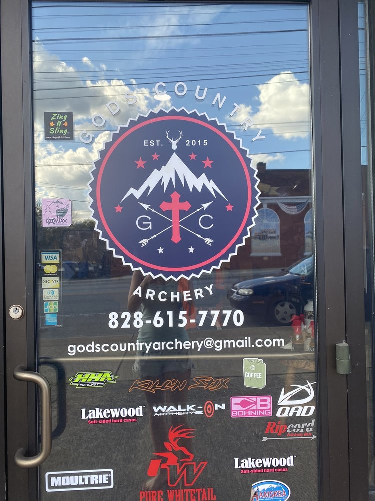 God's Country Archery: 3246 W Main St, Claremont, NC
