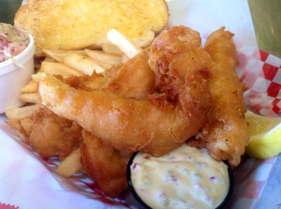 Cod platter at the friday night fish fry yelp for Friday night fish fry near me