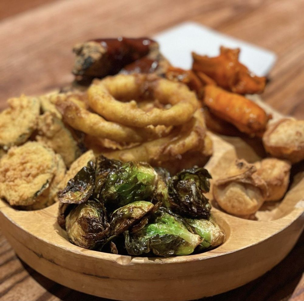 Food from The Boynton Restaurant & Spirits