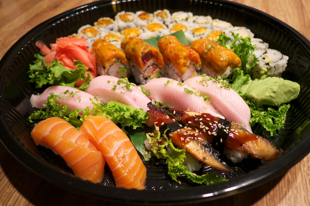Take out assorted rolls sushi yelp for Asian cuisine hoboken nj