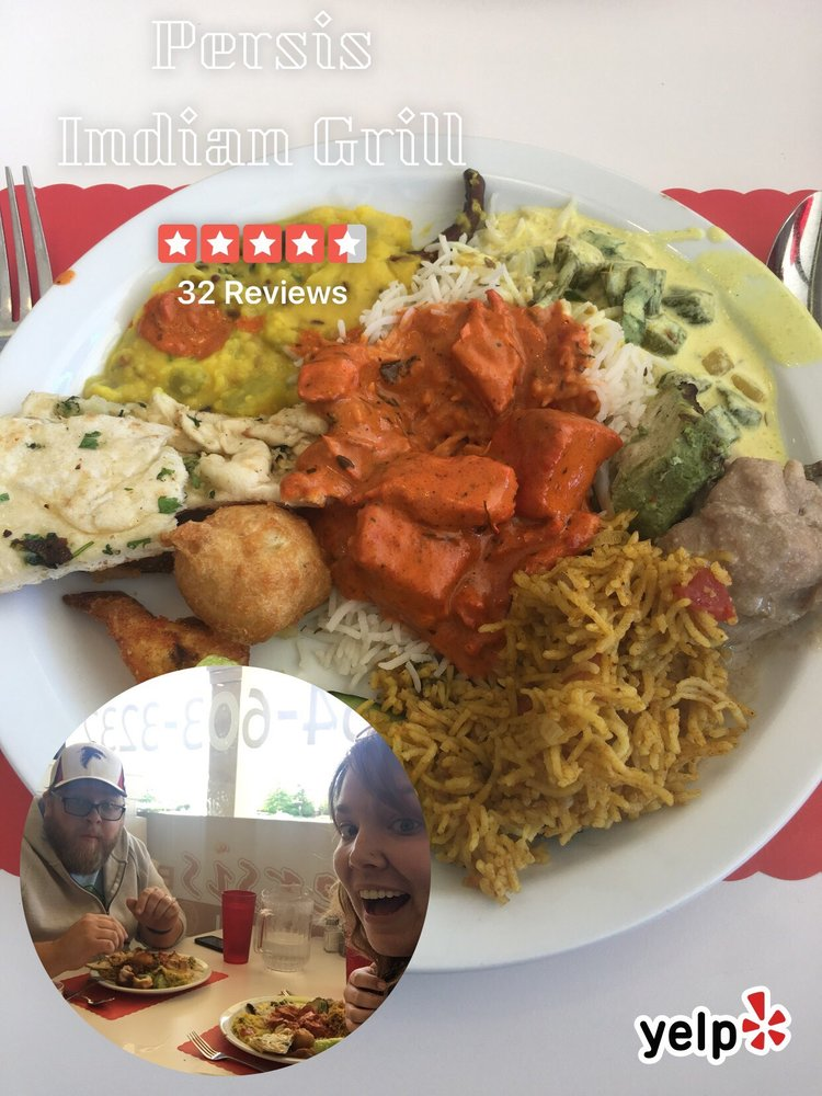 Persis Indian Grill: 1451 Woodruff Rd, Greenville, SC