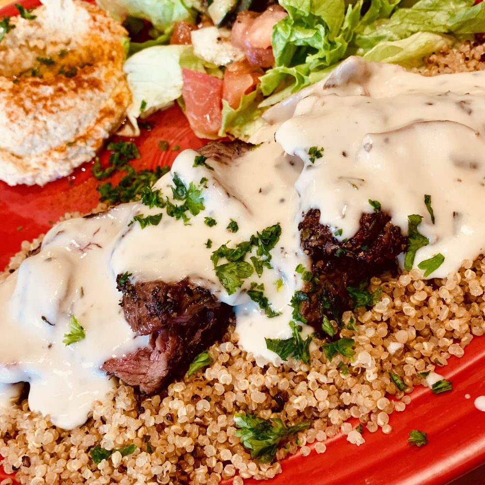 Food from Baba's Mediterranean Kitchen