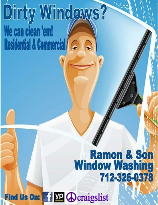 Ramon & Son Window Washing: 14916 Borman St, Omaha, NE