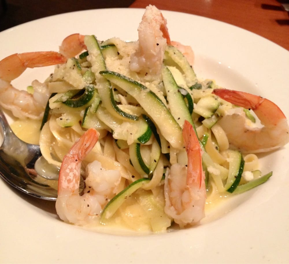 California Pizza Kitchen Zucchini Shrimp