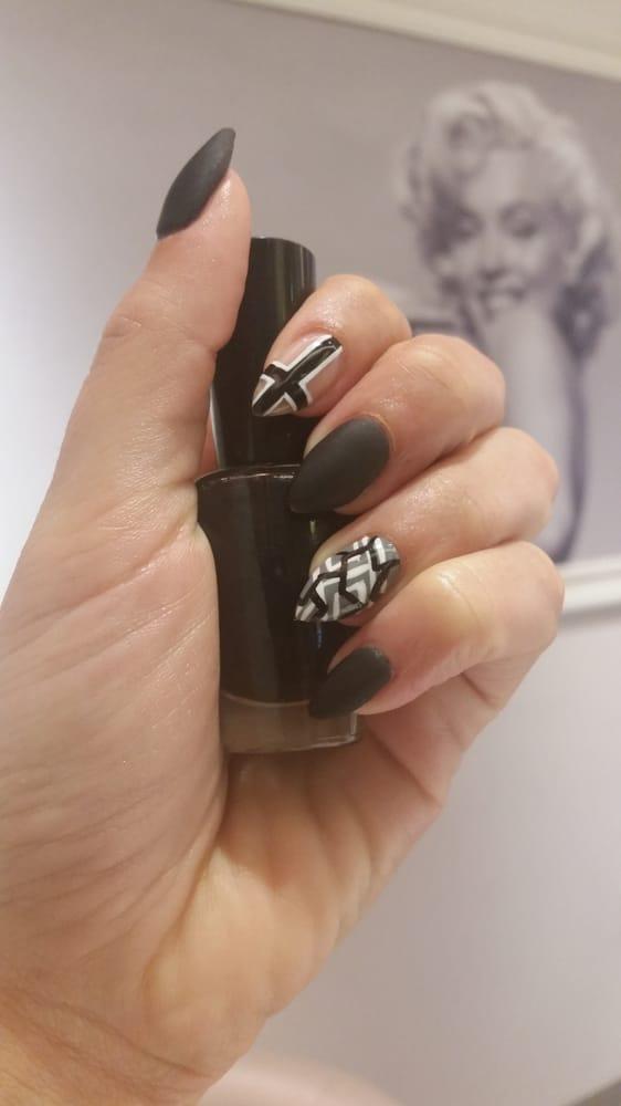 Nails done by LaShon! Nail art by Kimiko - Yelp