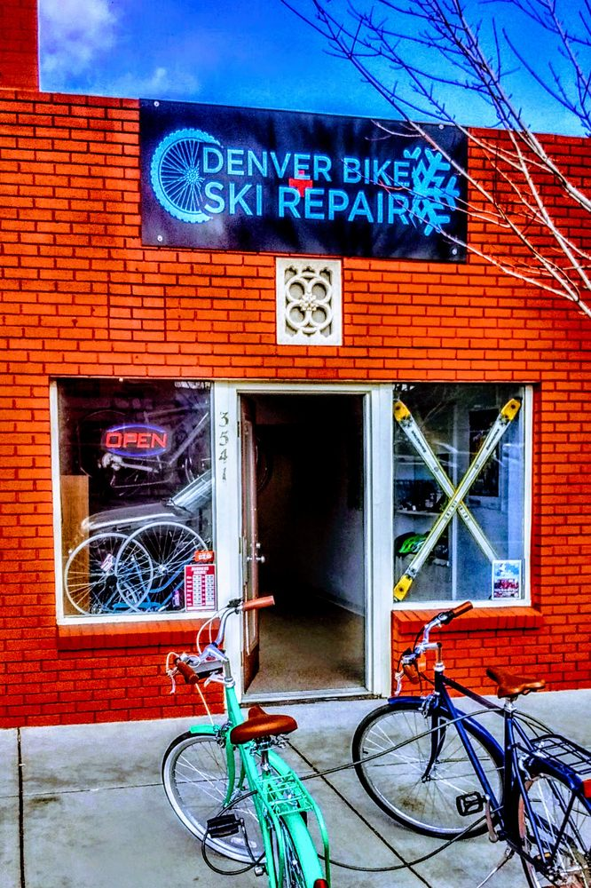 Denver Bike and Ski Repair: 3541 West 44th Ave, Denver, CO