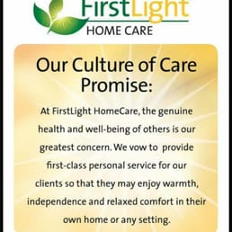 Photo Of FirstLight HomeCare   Olympia, WA, United States. FirstLight Is  Built On Great Ideas