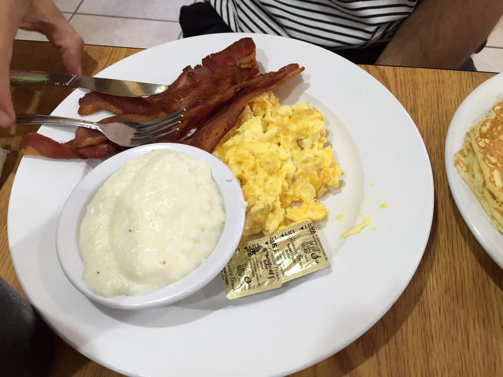 Delish Eggs Grits Bacon Yelp