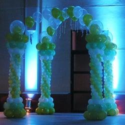 foto de guadalupe globos u eventos rosario