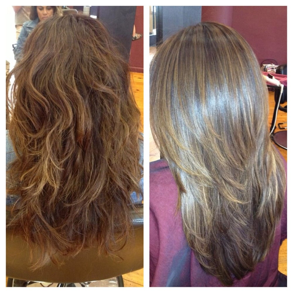 before and after volumizing brazilian blowout yelp
