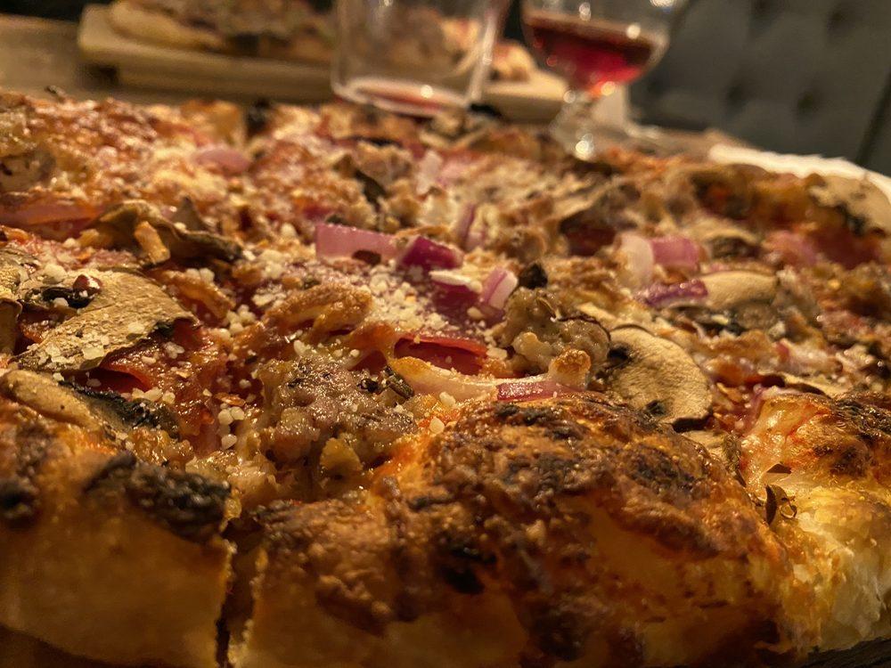 Flame & Cork Wood Fired Pizzas, Vinos & Brews: 8592 North Government Way, Hayden, ID