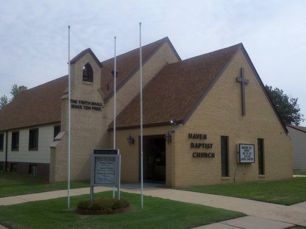 Haven Baptist Church: 502 E 4th St, Haven, KS