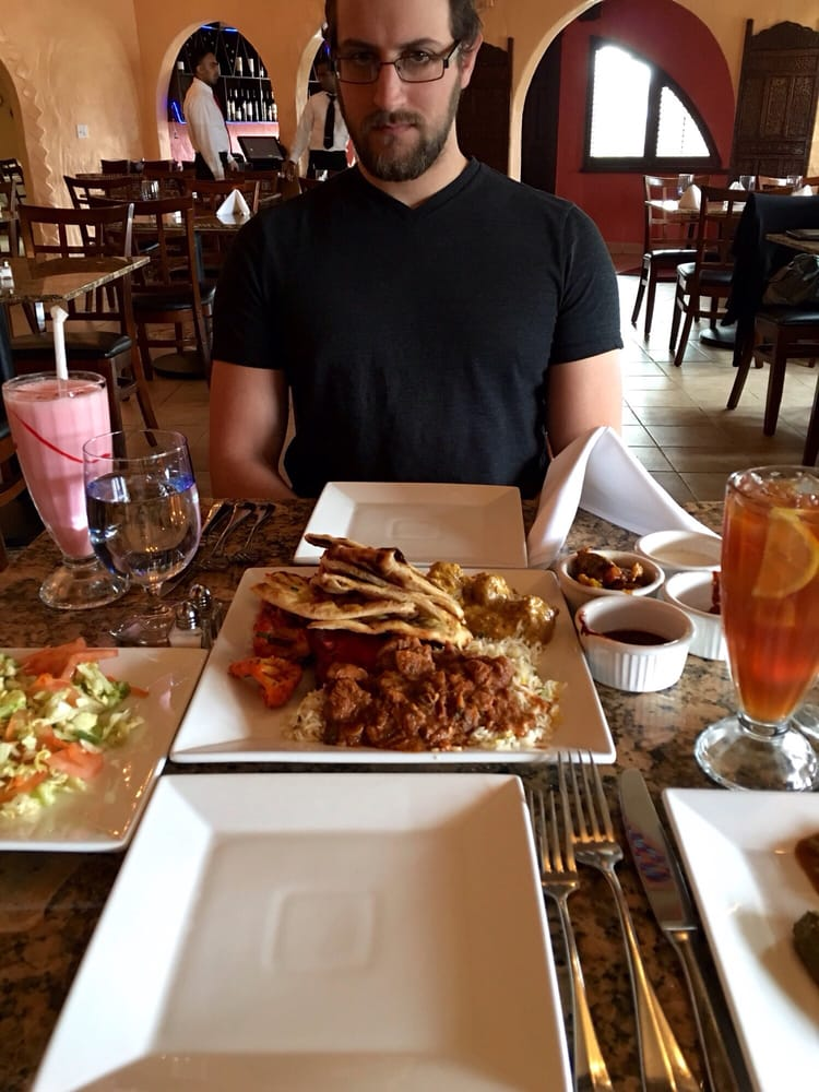 His first time yelp for Aroma indian cuisine