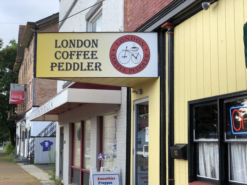 London Coffee Peddler: 127 S Main St, London, OH