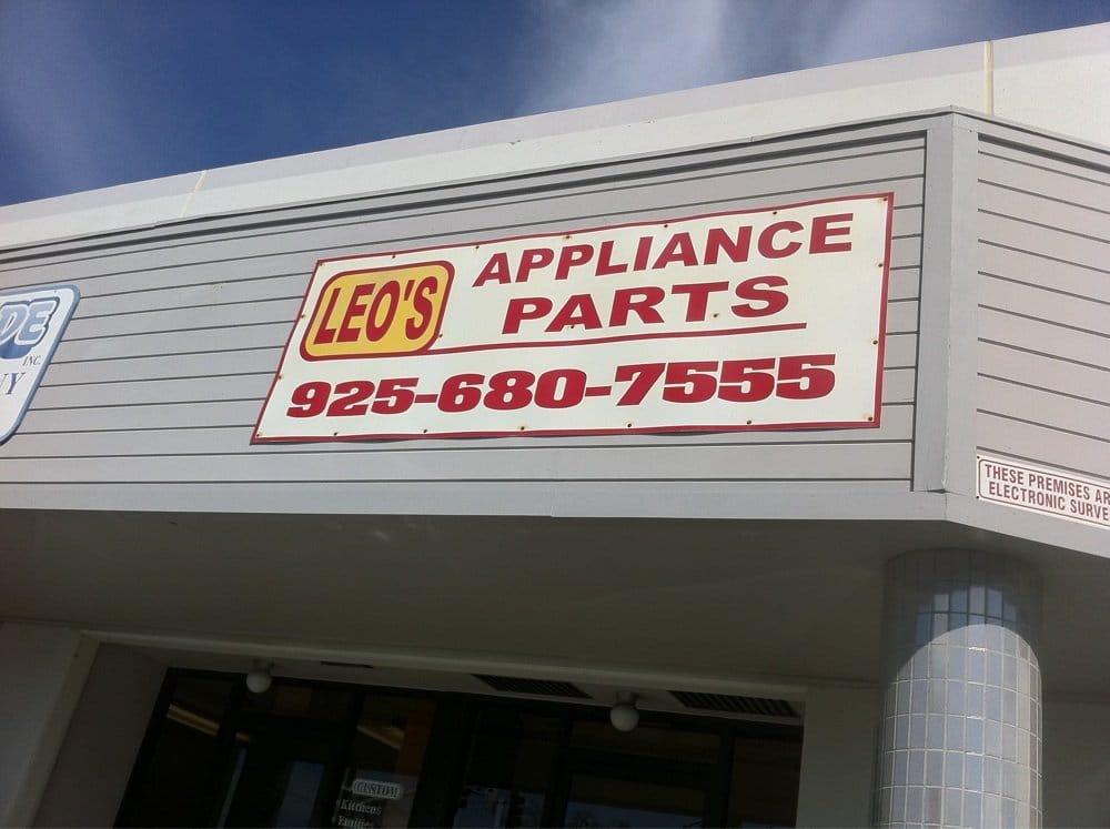 Leo S Appliance Parts Appliances Amp Repair Concord Ca