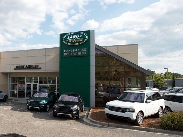 Land rover west ashley yelp for Baker motors jaguar charleston sc