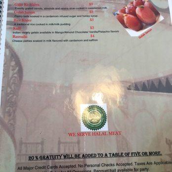 Persis Indian Restaurant Greenville Sc