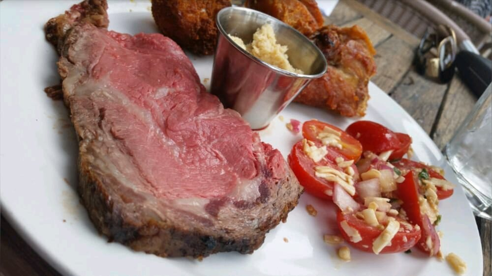 Every Sunday Prime Rib Carved For Brunch Buffet Other Hot