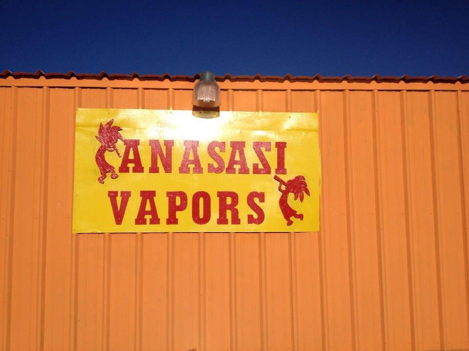 Anasazi Vapors: 903 Hwy 516, Flora Vista, NM