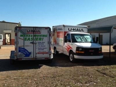 U haul closed truck rental 9230 hwy 128 savannah for Trailer rental savannah ga
