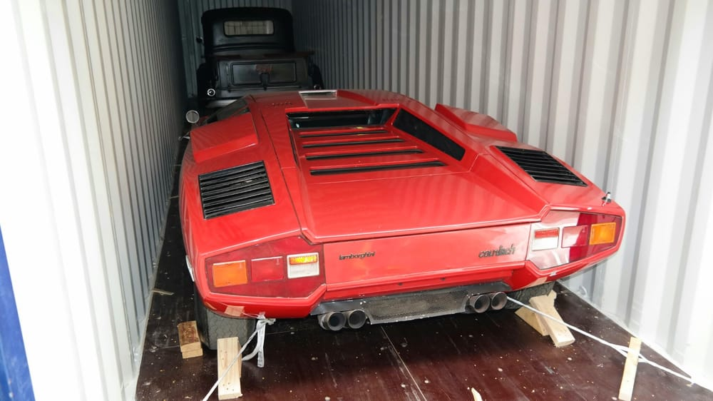 Lamborghini Countach Being Shipped Overseas To Europe Yelp