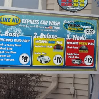 Scrub A Dub Car Wash Prices