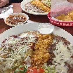 Photo Of La Hacienda Restaurant Sebring Fl United States Enchilada Platter