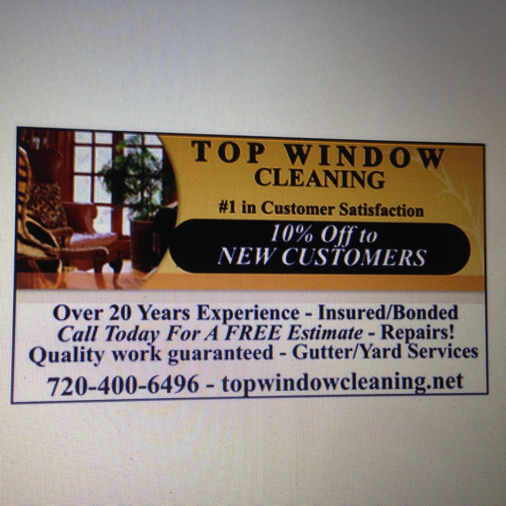 Top Window Cleaning Service: 6859 N Foothills Hwy, Boulder, CO