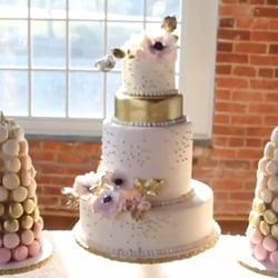 Photo Of Miel Bon Bons Durham Nc United States Wedding Cake With