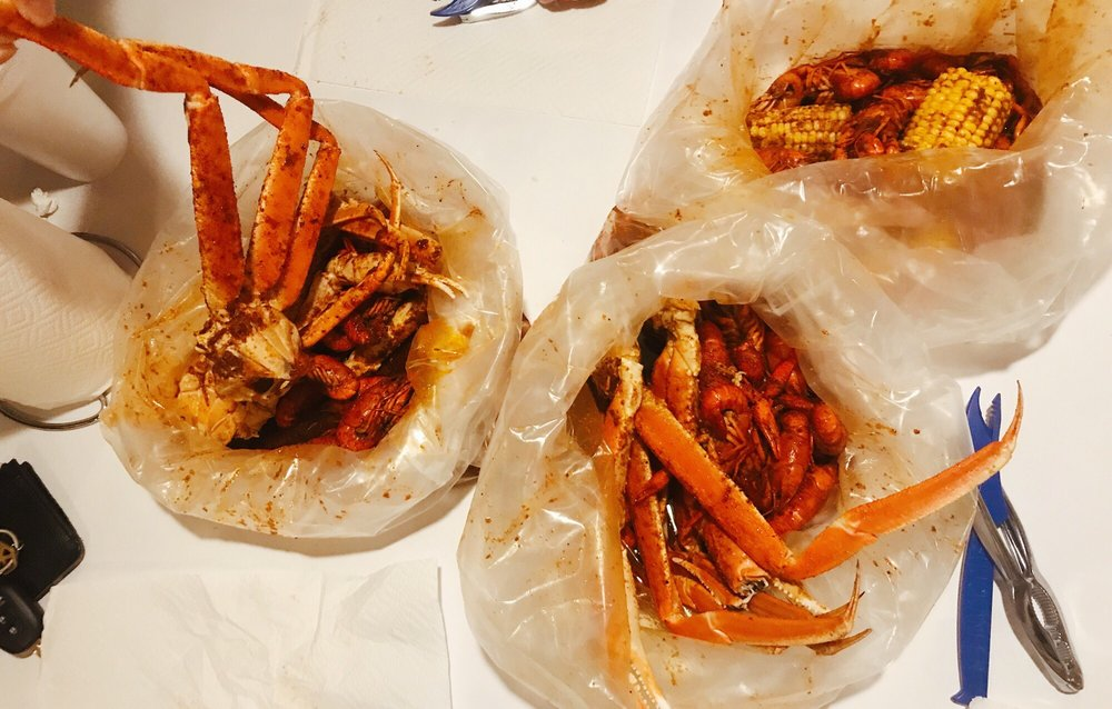 Food from Juicy Crawfish & Seafood