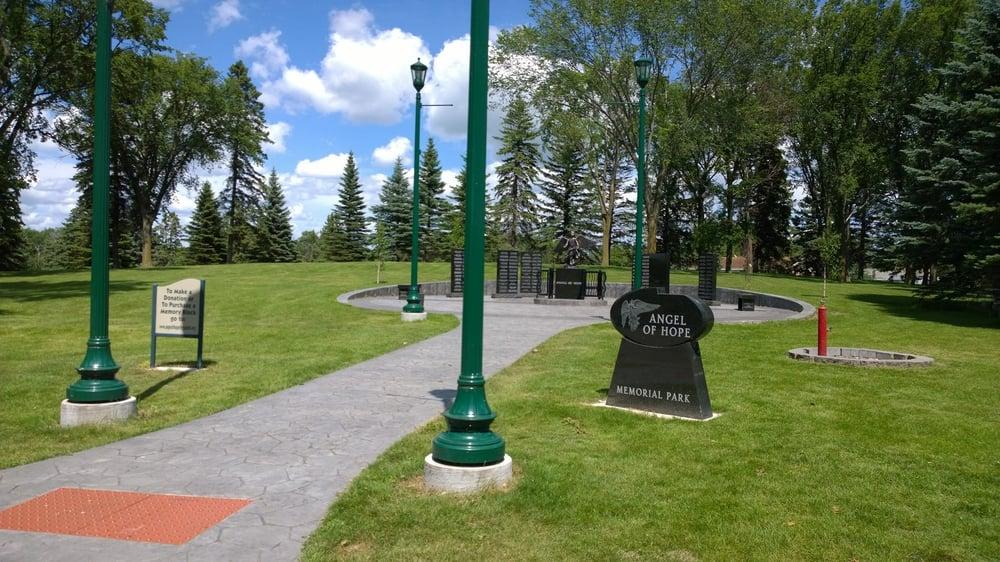 Adams Park and Grotto Lake: S Burlington Ave, Fergus Falls, MN