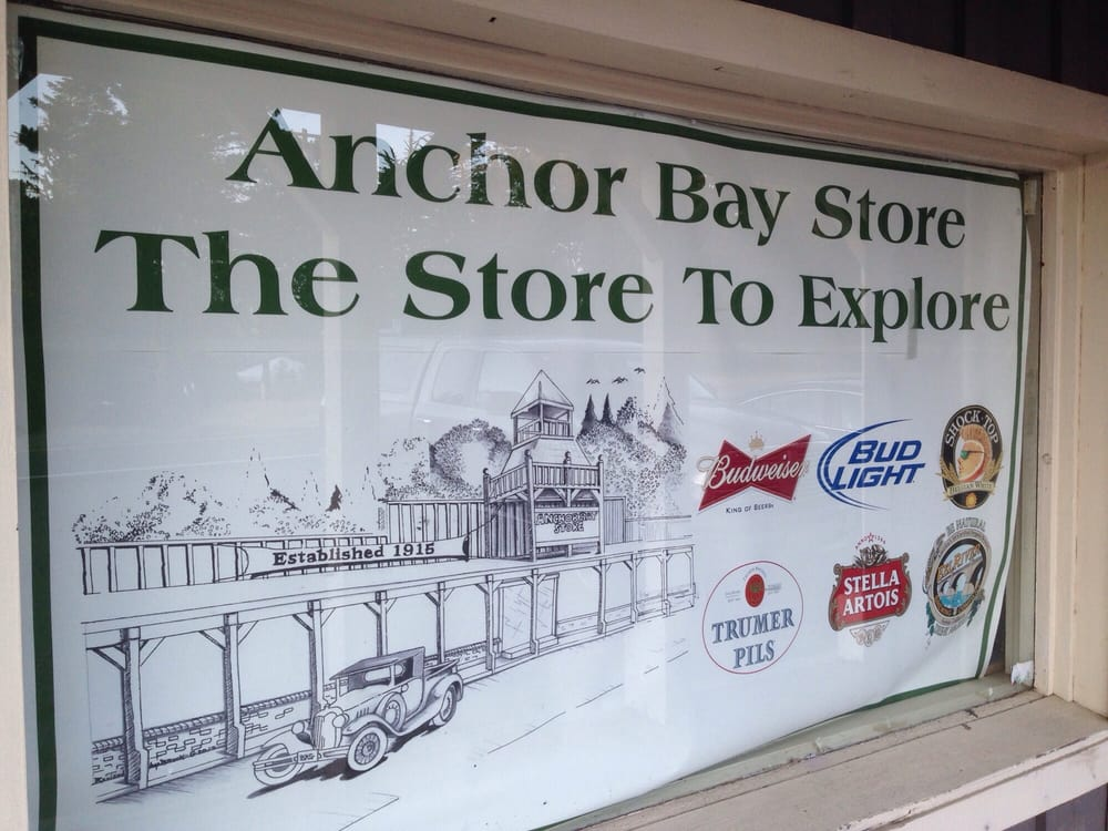 Anchor Bay Store: 35513 S Hwy 1, Gualala, CA
