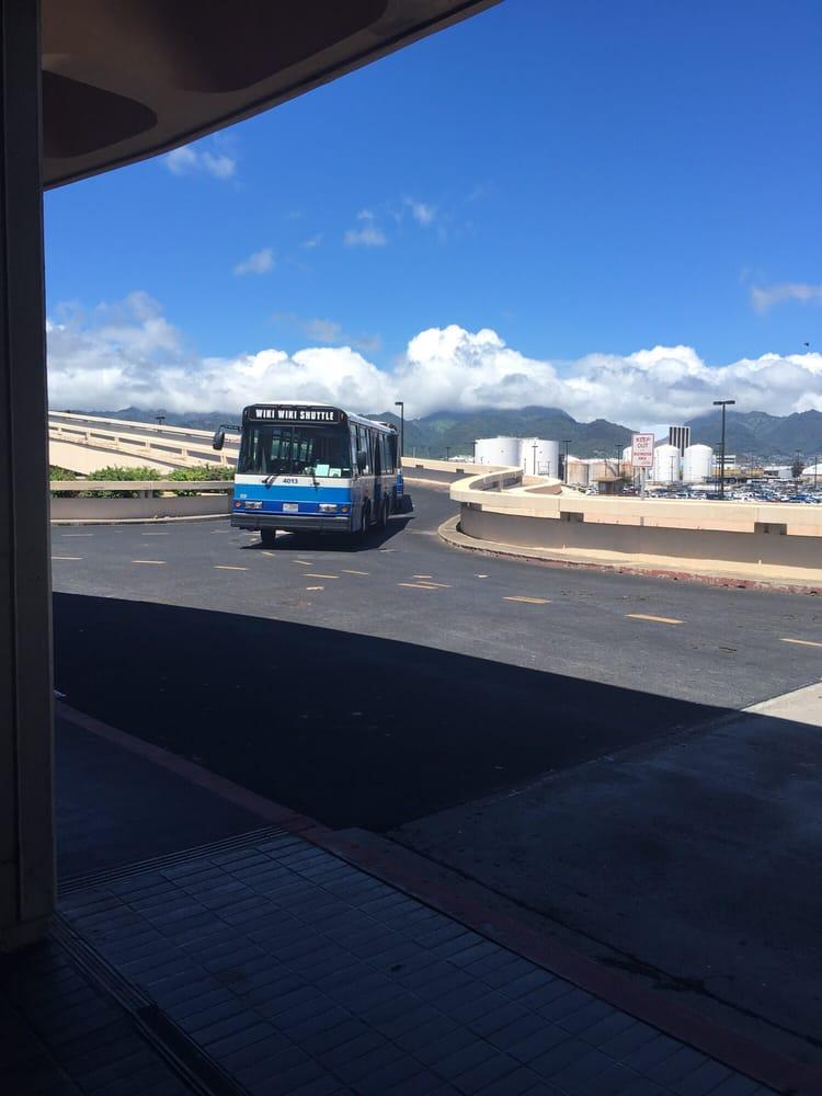 Photo of Daniel K Inouye International Airport - HNL - Honolulu, HI, United States. Wiki wiki shuttle