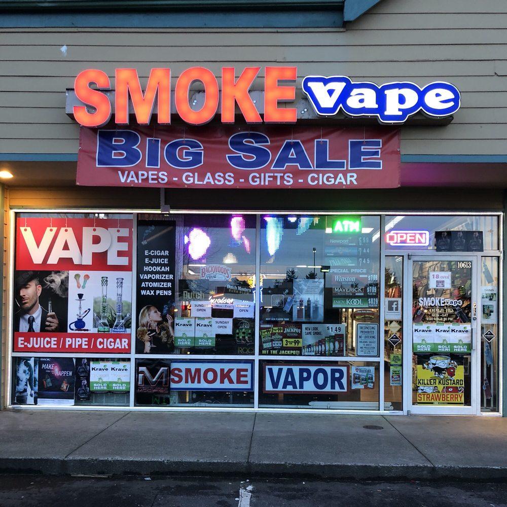 Smoke & Vape: 10613 SE 240th St, Kent, WA
