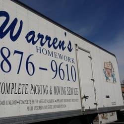 Warren's homework moving las vegas