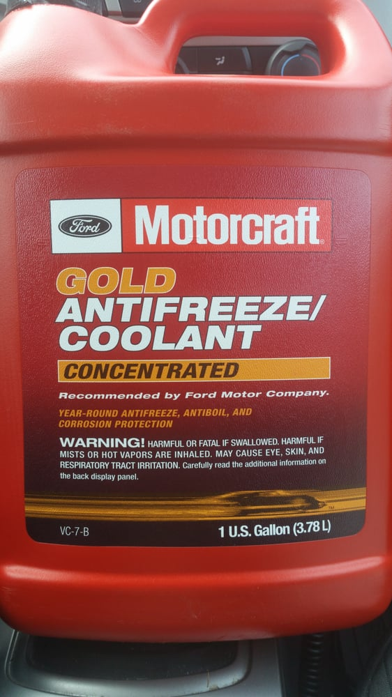 Jack Byrne Ford >> Special Ford Only Coolant For My 2010 Ford Focus Two 1 Gallon