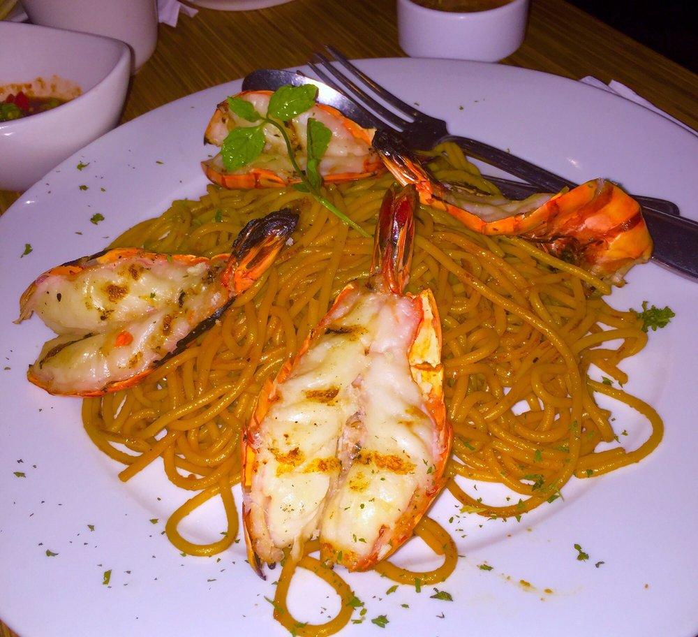 Their garlic prawn noodles, a house favorite - Yelp