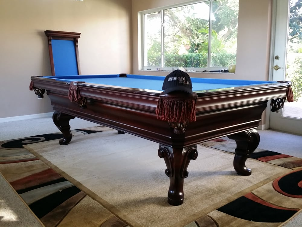 Batman Pool Table Yelp - Electric blue pool table