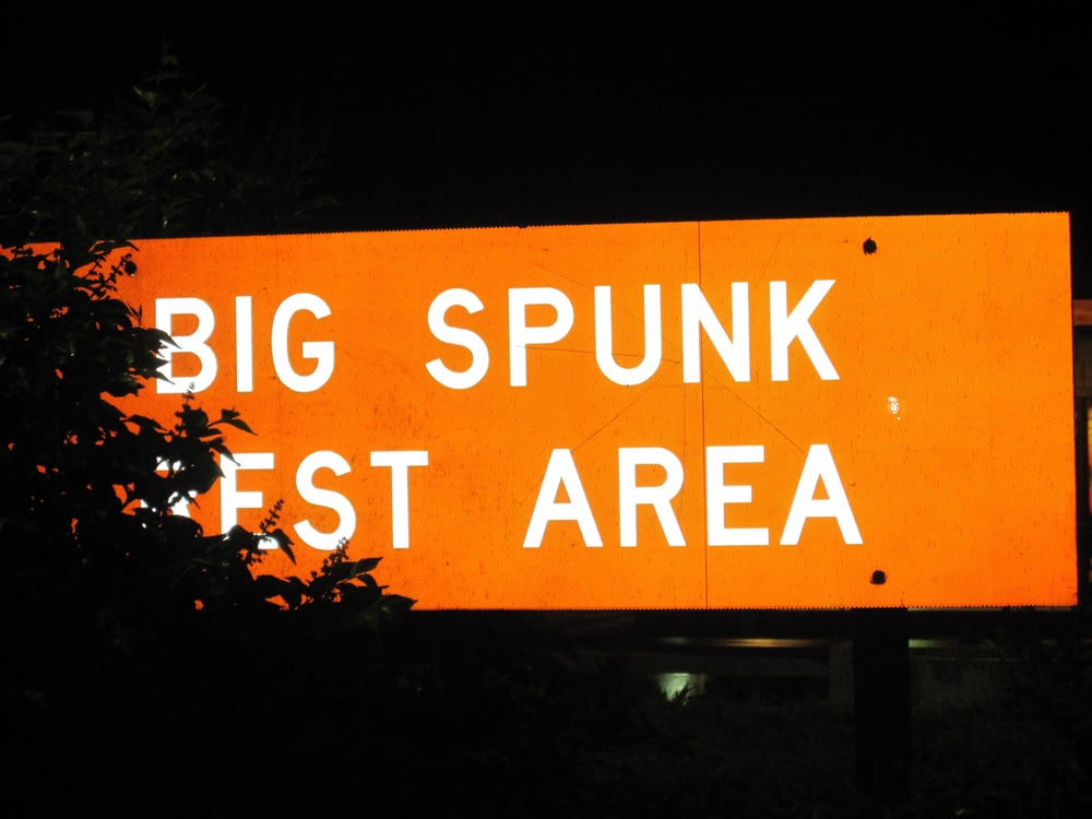 Big Spunk Lake Rest Area: Milepost 152 I-94, Avon, MN