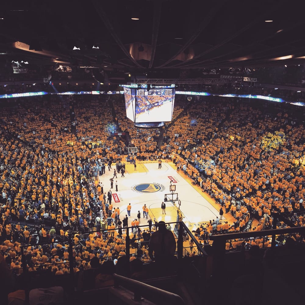 Oracle Stadium: 2015 NBA Playoffs Game 5 Vs Memphis Grizzles: Section 226